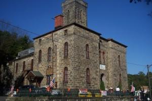 Old Jail in Jim Thorpe, PA